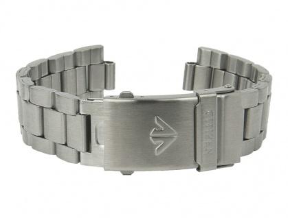 Uhrenarmband Edelstahl Band silberfarben passend zu Citizen Promaster AL0000-04E 28278