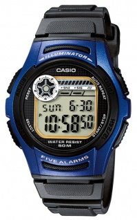 Casio Collection Herrenuhr Digitaluhr Alarm W-213-2AVES