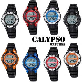 Calypso Damenarmbanduhr Quarzuhr Kunststoffuhr mit Polyurethanband Alarm-Chronograph digital alle Modelle K5684