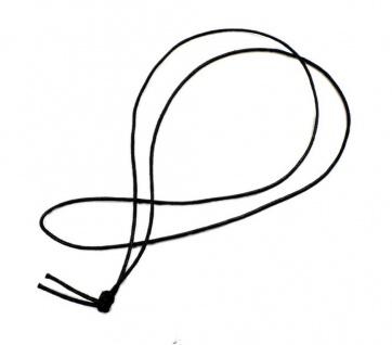 Minott Halskette schwarzes Band aus Baumwolle 100cm 21323