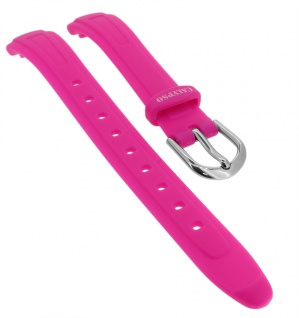 Calypso Ersatzband aus Kunststoff in pink mit Schließe silberfarben Spezial Anstoß => K6067/3