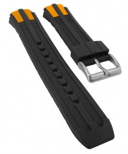 Calypso Watches | Uhrenarmband Kunststoff Band schwarz/orange für K5513/3