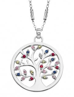 Lotus Silver Halsschmuck Collier Kette mit Lebensbaum Anhänger Silber LP1890-1/1