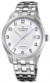 Candino SWISS Herren Armbanduhr Automatic Edelstahl Saphirglas C4709/1