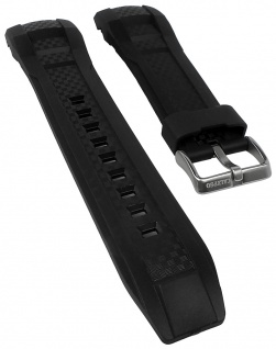 Calypso Watches Uhrenarmband Ersatzband Kunststoff glatt schwarz K5691