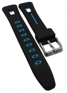 Calypso Ersatzband schwarz/blau Kunststoff Spezial Anstoß K5506/4 K5506