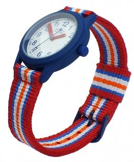 Adora Young Line analoge Quarz Armbanduhr mehrfarbig Ø 31mm Nylonband AY4406