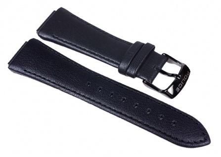 Police Uhrenarmband Leder Band schwarz für Damen Uhr Sphere X P.12778LB3 P12778
