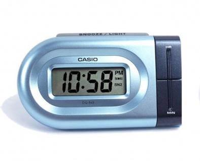 Casio Digital Wecker Reisewecker LED Light DQ-543