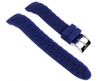 Esprit Uhrenarmband Silikon Band Band Blau 18, 5mm 102802005