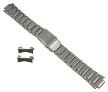 Casio Ersatzband Edelstahl Band Silberfarben passend zu MTP-1290D 10316635