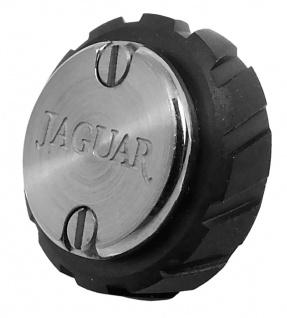 Jaguar Herren Swiss Made Ersatzkrone silberfarben/ schwarz Edelstahl J657