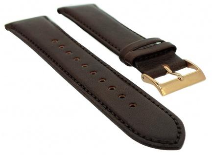 Hugo Boss Navigator Ersatzband braun 22mm Leder Band 1513496