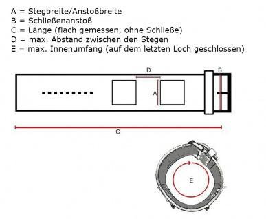 Uhrenarmband Leder Band Unterlageband 14mm schwarz in Kroko-Optik passend zu s.Oliver SO-1117-LQ - Vorschau 3
