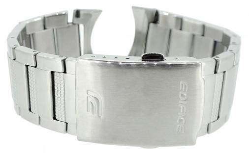 Casio Armband Edifice Ersatzband Edelstahl silberfarben EFR-555D EFR-555