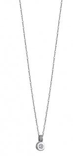 Lotus Silver Halsschmuck Collier Kette mit Anhänger und Zirkonia Silber LP1546-1/1