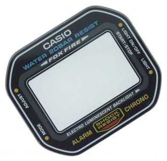 Casio G-Shock Ersatzglas Mineral schwarzer Rand DW-5600-1 DW-5600