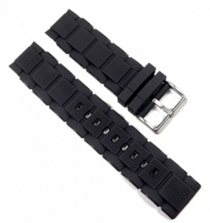 Calypso Uhrenarmband Kunststoff Band schwarz K5577 Dornschließe