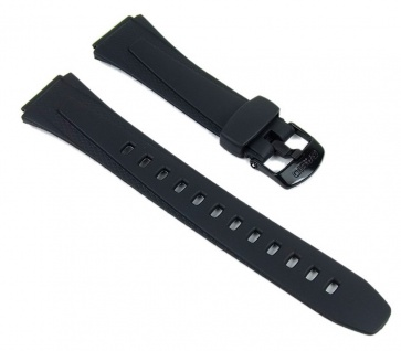 Casio Uhrenarmband Resin Band schwarz W-734-1AVEF W-734-1 W-734-9