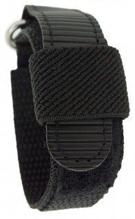 s.Oliver Ersatzband 15mm Klettband schwarz Nylon SO-1388 SO-1662 SO-2181 SO-1438 - Vorschau 2