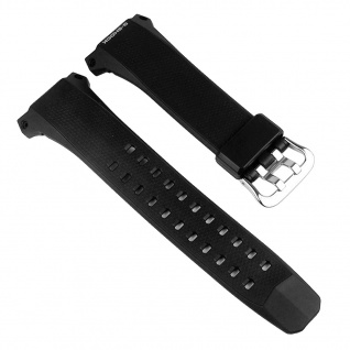 Casio Uhrenarmband Resin schwarz für GW-056