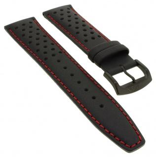 Citizen Chronograph Eco Drive Uhrenarmband 22mm Leder schwarz CA0645 CA0645-15H