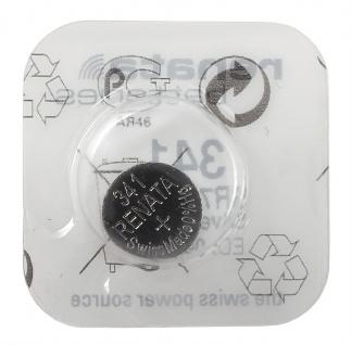 Renata 341 Batterie SR714SW Knopfzelle Swiss Made 1, 55 V Silberoxyd