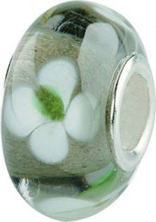 Charlot Borgen Marken Damen Bead Beads Drops Kristallglas Silberkern GPS-03schwarz