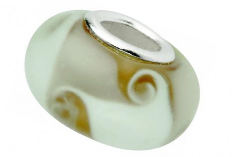 Charlot Borgen Marken Damen Bead Beads Drops Kristallglas Silberkern GPS-52Braun