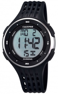 Calypso Herrenarmbanduhr Quarz Kunststoff digital K5664