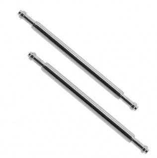 Casio Teleskopstifte | Federstege 1, 5mm Ø 20mm Edelstahl für Faltschließe