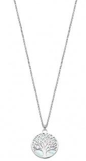 Lotus Silver Halsschmuck Collier Kette mit Lebensbaum Anhänger Silber LP1678-1/1