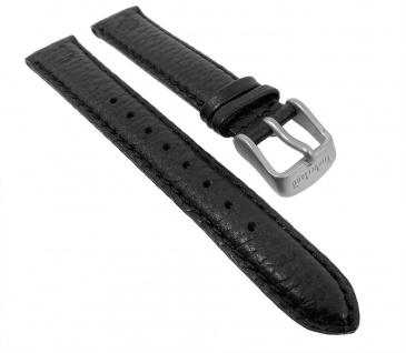 Uhrenarmband Leder genarbt 16mm schwarz für Timberland 75011L - 28137 - Vorschau 1