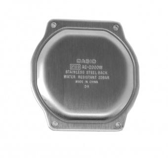 Casio Collection AE-2000WD Cover/Back Uhrendeckel Ersatzdeckel aus Edelstahl