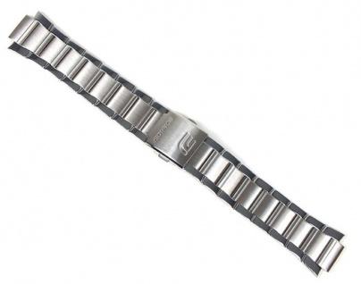 Casio Edifice Uhrenarmband Edelstahl Band für EF-320 EF-320D