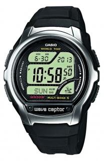 Casio Wave Ceptor Funkuhr digital schwarz Herren WV-58E-1AVEF