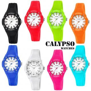 Calypso Damenarmbanduhr Quarzuhr Kunststoffuhr mit Polyurethanband analog alle Modelle K5675