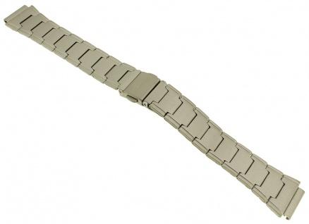 Casio Ersatzband | Uhrenarmband Edelstahl Band Silberfarben matt für Collection LW-200D