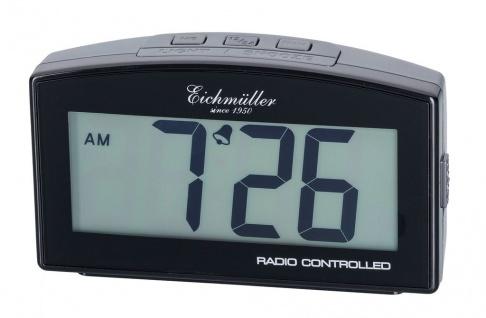 Wecker Reisewecker Alarm Digital Kunststoff grau mit Schlummer Funktion