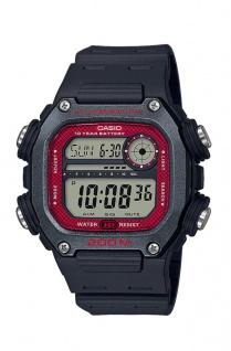 Casio Collection Herrenuhr Digital Weltzeitfunktion Timer schwarz DW-291H-1BVEF