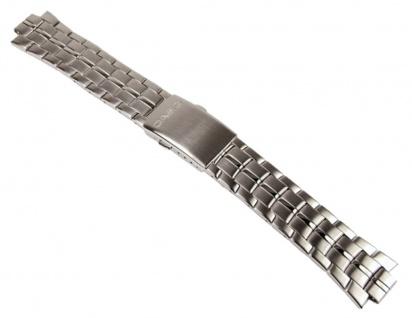 Casio Uhrenarmband Edelstahl Band für MTP-4700D, MTP-4700
