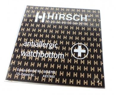 HIRSCH PRO SKIN WATCH BOTTOM | Antiallergisches Gehäusebodenleder zur Gerhäusebodenabdeckung 31163