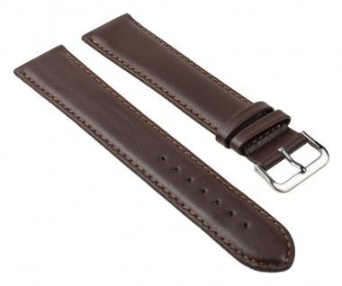 Uhrenarmband Leder Band Braun XXL 25782S