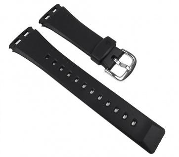 Casio Uhrenarmband Resin Band schwarz für BG-180-1 BG-180