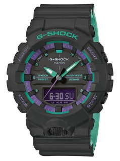 Casio G-Shock Analog / Digital Herrenuhr Super-Illuminator Stoßfest GA-800BL-1AER
