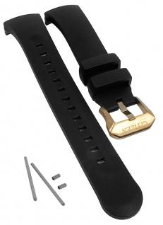 Citizen Promaster Herrenuhr Ersatzband schwarz Kunststoff glatt BN2025-02E