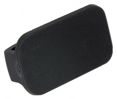 Junghans Mega 1000 Kautschukschlaufe 24mm schwarz Schlaufe 026/4800 026/4801