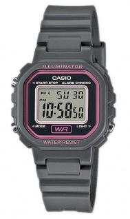 Casio Collection LA-20WH-8AEF digital Uhr mit Automatischer Kalender / Resin schwarz