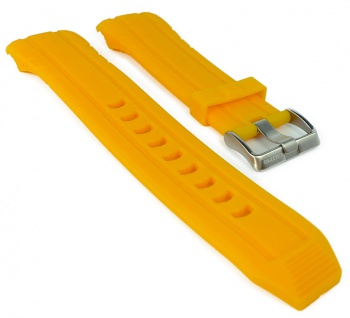 Calypso Ersatzband gelb Kunststoff Dornschließe silbern Band Spezial Anstoß K5697/1 K5697