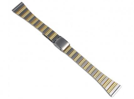 Minott Uhrenarmband Edelstahl Band Bicolor 16mm 823010000716